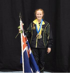 Tia Gold Medal