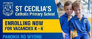 St Cecilia's Catholic Primary School - Wyong NSW