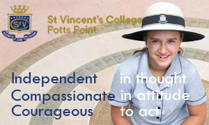 St Vincent's College, Potts Point NSW