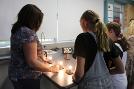 Exploring the science labs