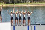 Victory at Rowing Nationals