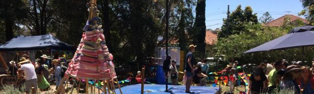 The annual school fair is a favourite with the locals