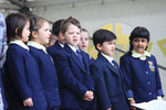 Singing at our Open Day