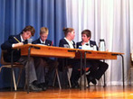 Debating at John Colet School