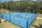 Outdoor multi-purpose courts