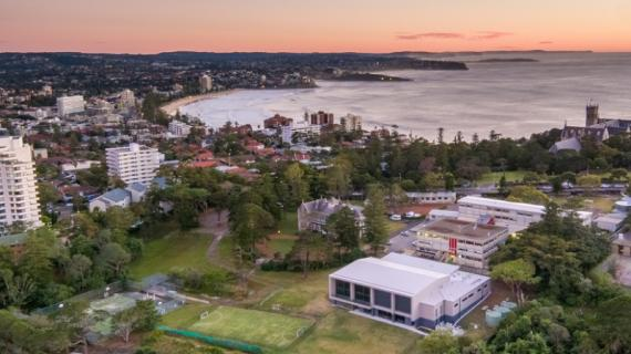 St Paul's Manly, Aerial