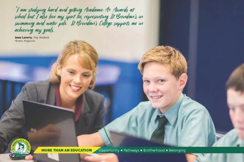 Classroom is the Core at St Brendan's College