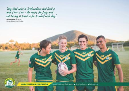 St Brendan's offers a diverse sporting program from football to shooting club