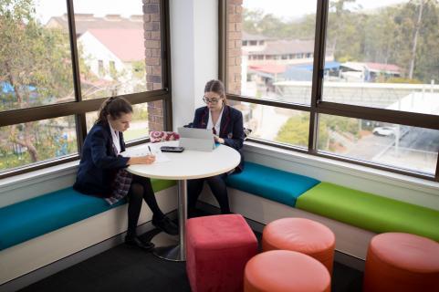 Quiet Study Areas for Senior Students