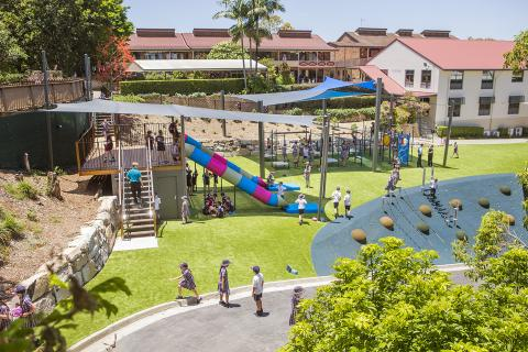 Gully Playground for Junior Students