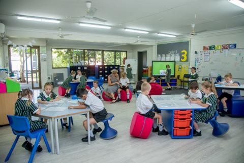 All the classrooms on our Junior campus have been renovated and refurbished and offer a state of the art, flexible learning environment purpose-built for 21st century minded students
