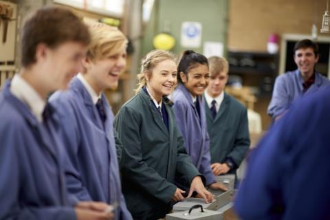 East Melbourne Christian School students PD&T