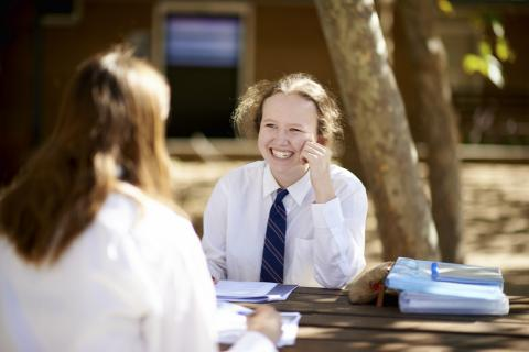 Melbourne Private Secondary School Student