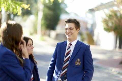 Melbourne Private School Student