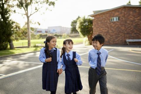 NCC Primary School Students