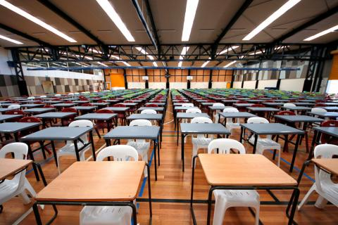 VCE Exams held on campus not externally
