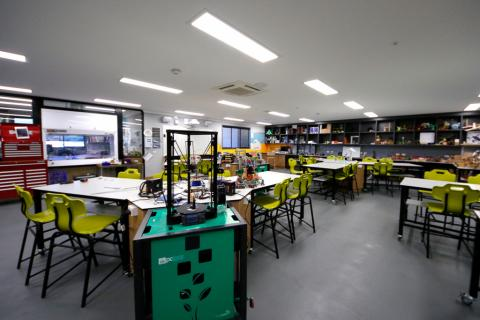 Technology subjects have high quality facilities