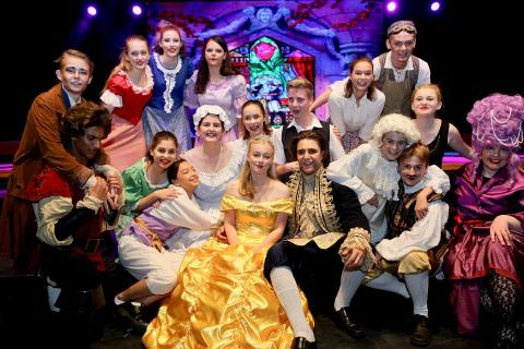 2018 musical -Beauty and the Beast
