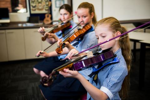 Music at St Patrick's College Townsville