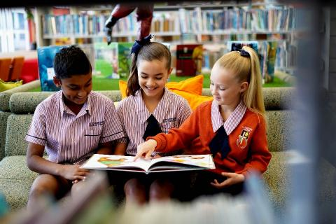 A strong focus on literacy and numeracy foundations are developed