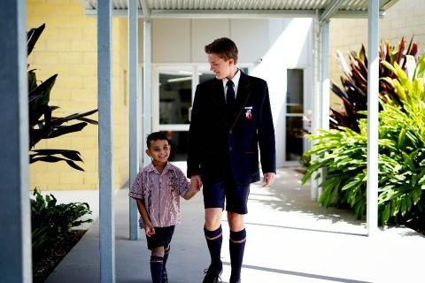 Students grow from Prep to Year 12