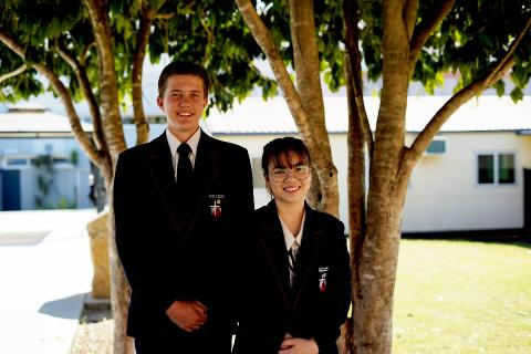 Secondary students are given wide leadership and development opportunities