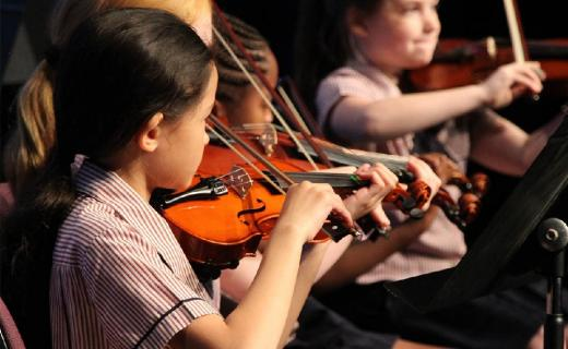 Performing Arts programs develop students' interests