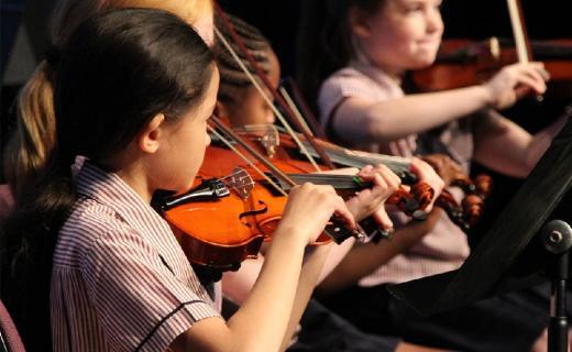 Performing Arts programs develop students' interests