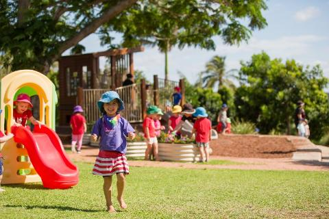 RGS caters to children from 6 weeks of age at the Early Learning Centre