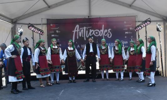Senior School Greek Dancing Group