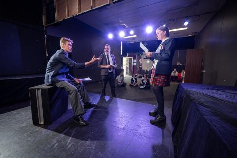 Drama at Northholm Grammar