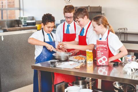 Year 7 Food Technology, Stephen Street Campus