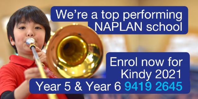 Top Performing Naplan School