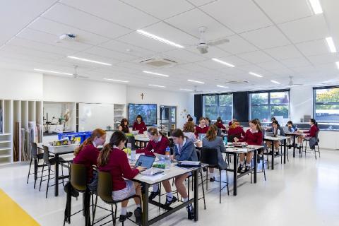 New Visual Arts Classrooms