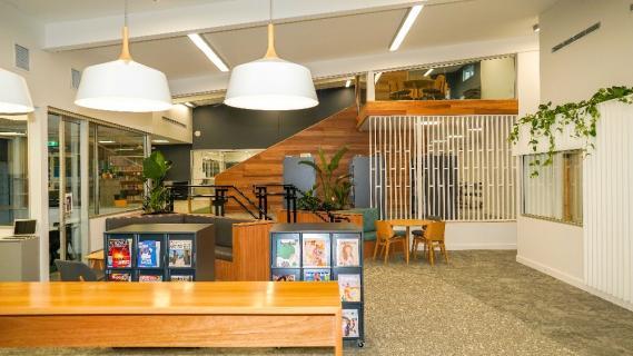 Revitalised Library 2021