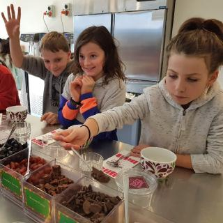An excursion to learn about the science of food and chocolate making