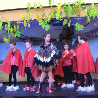 Our annual school performances teach independence, collaboration and build confidence