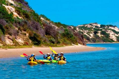 The Coorong is a great place for Kayaking and wilderness camping
