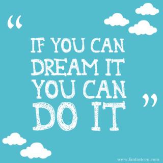Walt Disney said this
