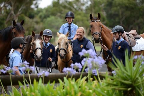 Onsite Equestrian Centre and Horsemanship Program